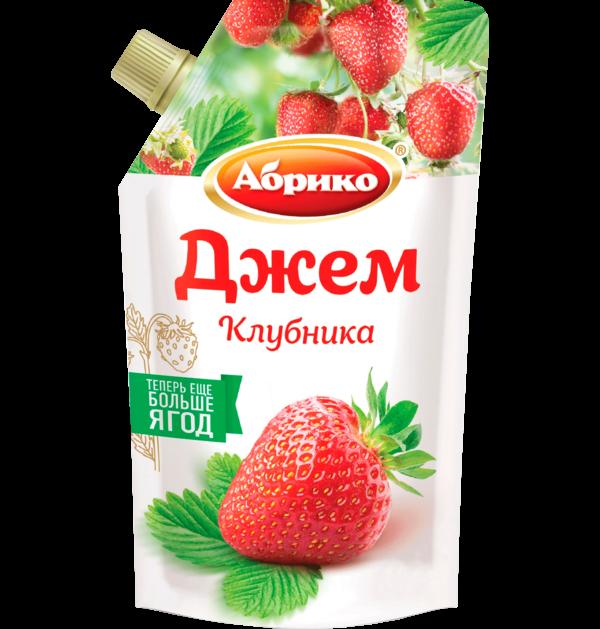 """""""АБРИКО"""" ДЖЕМ КЛУБНИКА 270Г"""
